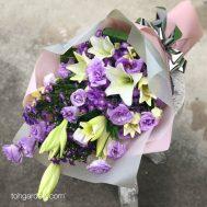 Lilies and Eustomas