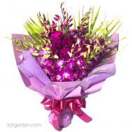 vSS04 Orchid Bouquet Upsized