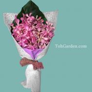 Pure Heart Orchid Bouquet