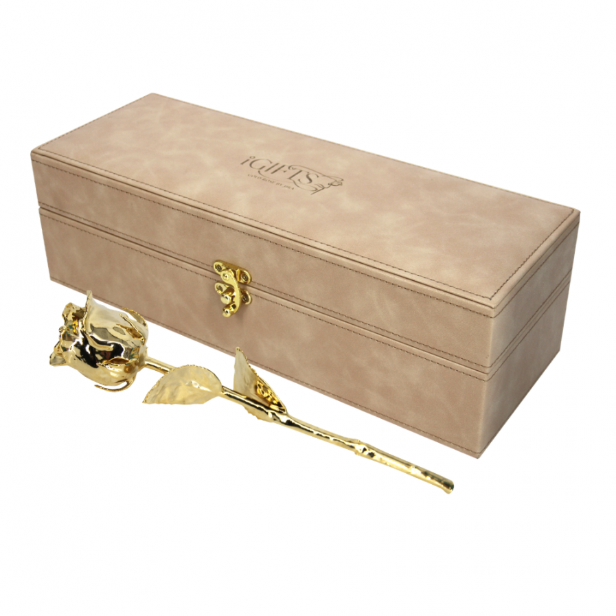 Gold Rose in Moonstone Giftbox