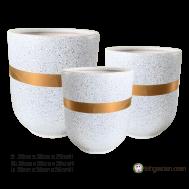 Gray Ceramic Pot