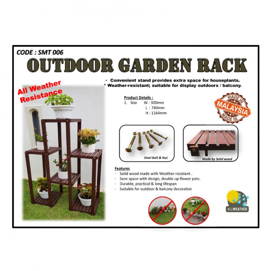 Outdoor Garden Rack (SMT6)