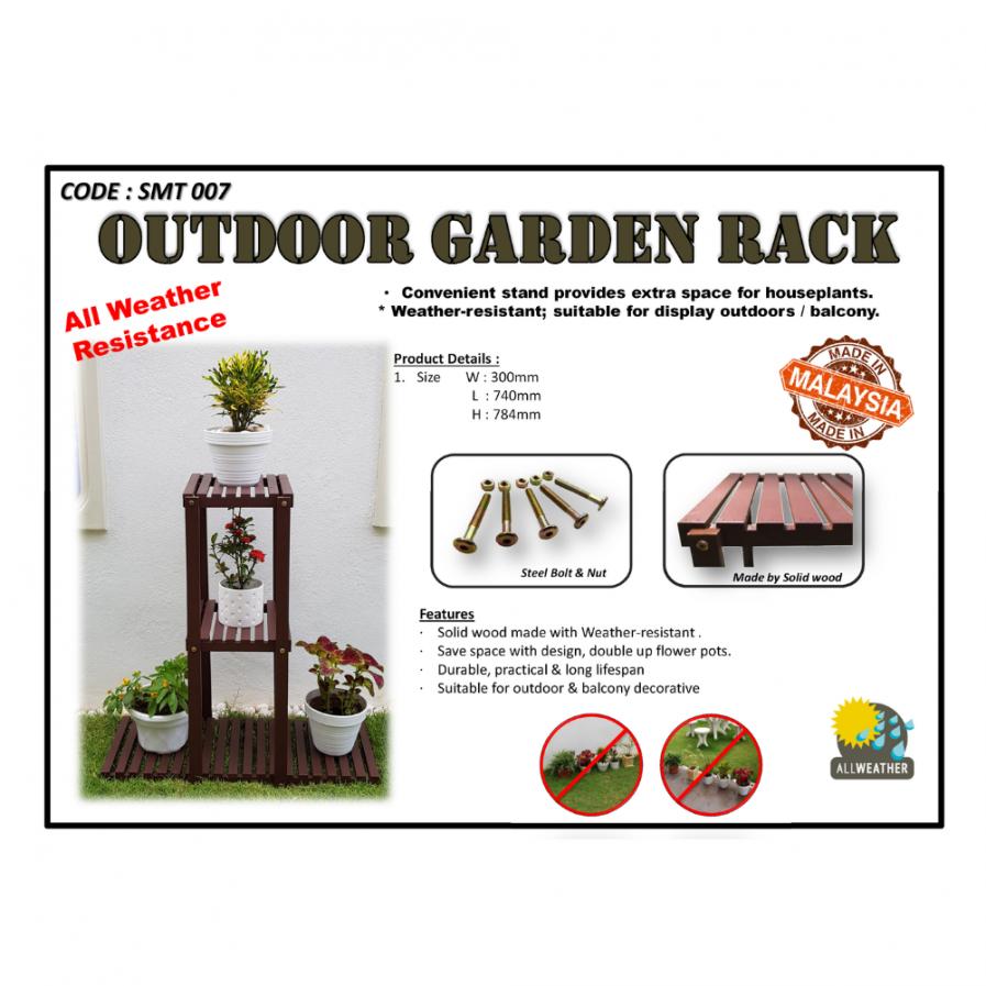 Outdoor Garden Rack (SMT7)