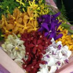 Fresh Mokara Orchid Bouquet