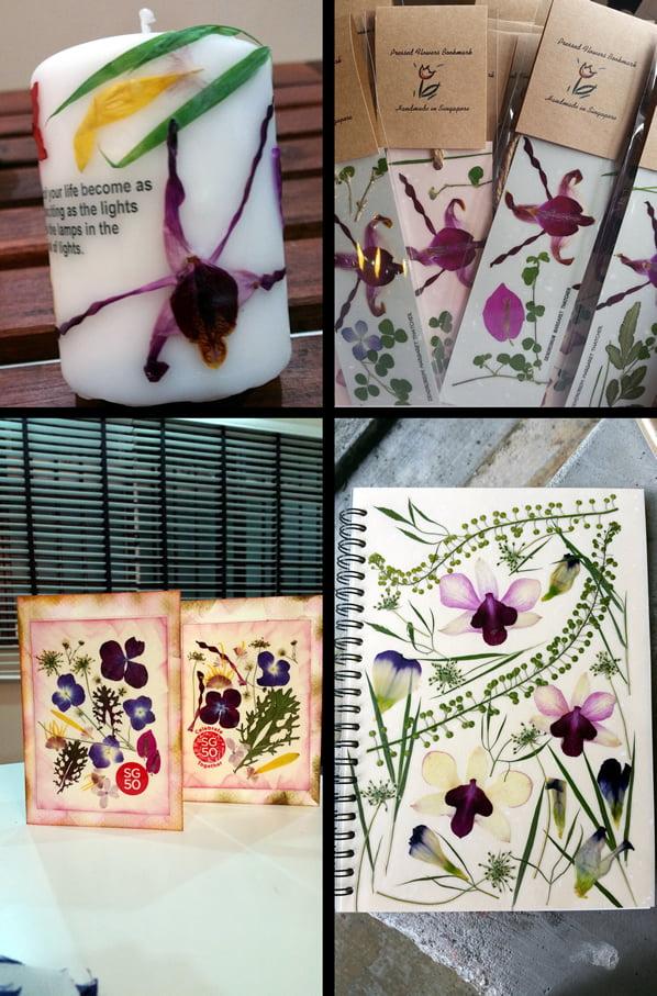 Pressed Orchids Workshop