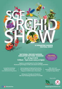 SGF Orchid Show 2018