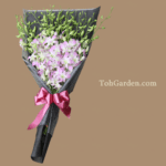 Orchid Dendrobium Lucian Pink Bouquet $80