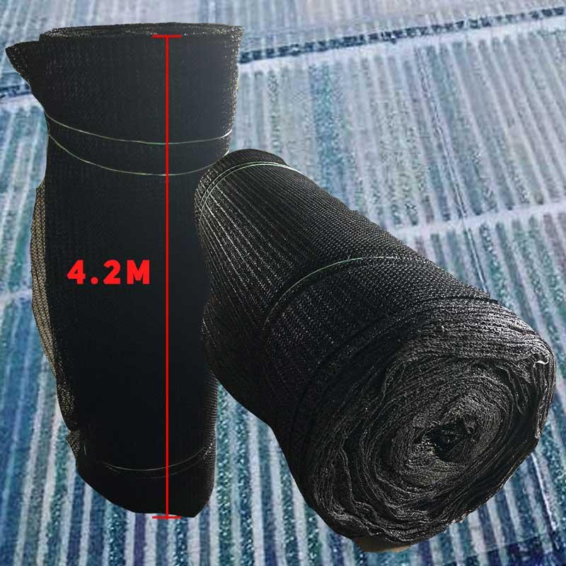 4.2m width Black Netting (per metre)