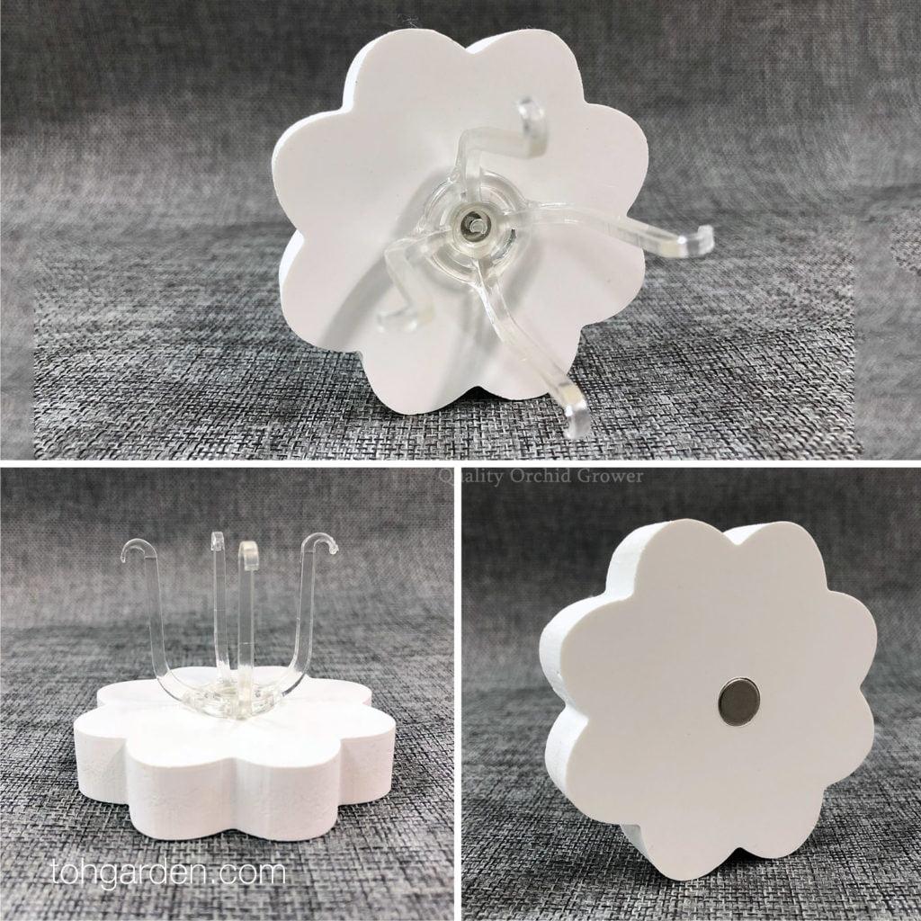 Design H: Magnetic Flower Air Plant Holder