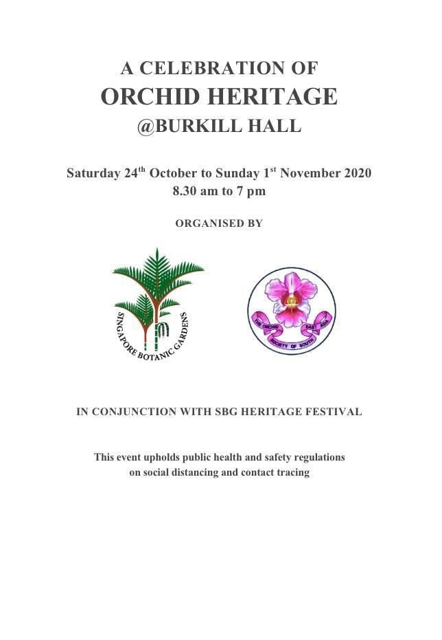 A Celebration of Orchid Heritage