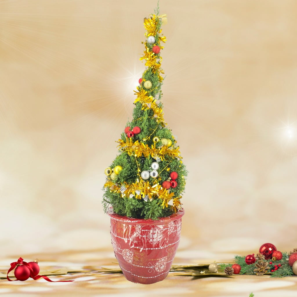 Christmas Tree (1.40m) with Wrapper and Decor