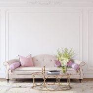 Angelwings Flower Arrangement in Living Room