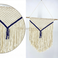 Cotton Macrame Woven Wall Hanging Tapestry Handmade