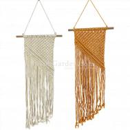 Macrame Wall Hanging Tapestry Handmade - Modern Chic Woven Art