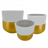 Goldarey Fiberglass Pot