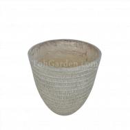 Huskvio fiberglass Pot