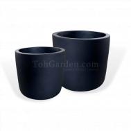 Black Cement (Round Matt)