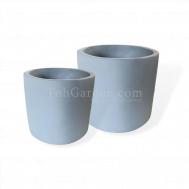 Light Blue Cement (Round Matt)