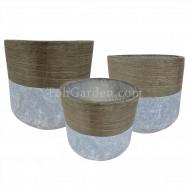 Oakalia Fiberglass Pot