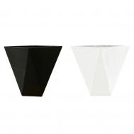 Tetrahedrya Fiberglass Pot