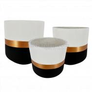 Tuxedon Fiberglass Pot