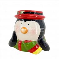 Penguin Ceramic Pot