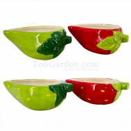 Strawberry Ceramic Pot