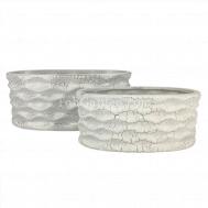 Weaver Leather Ceramic Pot